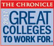 Great Colleges To Work For 2017 Logo