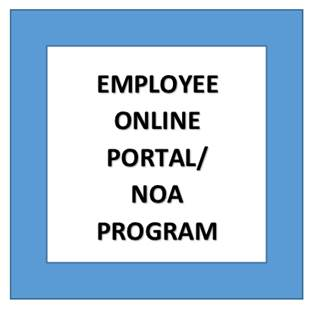 Employee Poirtal and Notice of Absence Image